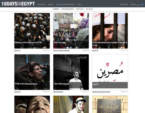 #18DaysInEgypt | Interactive & Immersive Journalism | Scoop.it