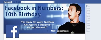 Happy birthday, Facebook! | Business in a Social Media World | Scoop.it