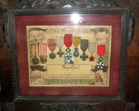 Les diplômes et médailles en mémoire de la grande guerre (p3) - Histoire & Militaria 14-18 | Nos Racines | Scoop.it