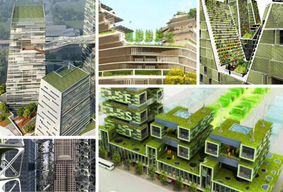 3D Farming: 26 Vertical Farms and Green Skyscrapers | WebEcoist | Vertical Farm - Food Factory | Scoop.it