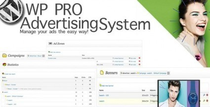 WP PRO Advertising System Plugin – Easily Manage Your Ads | Premium Wordpress Themes | Scoop.it