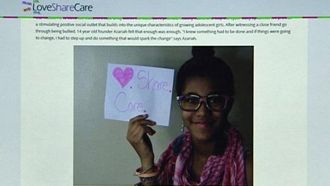 Teen starts website to help girls fight bullying - WLWT Cincinnati | Depression, Bullying, Self Harm. | Scoop.it