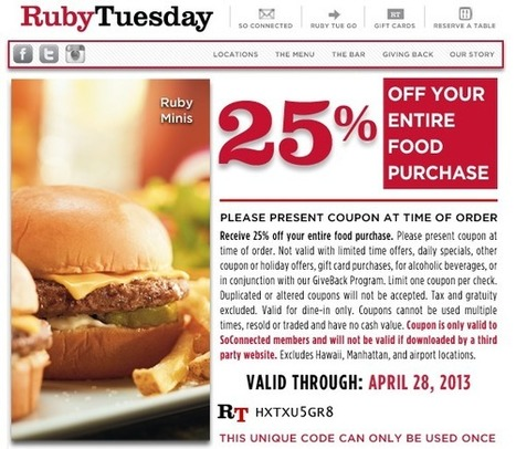 4 Examples of Effective Email Campaigns from Restaurant Brands   Public Relations & Social Media Insight   Scoop.it