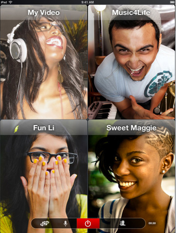New ooVoo Update Brings 12-Way Video Calling To Your iOS Device | iPads in Education Daily | Scoop.it