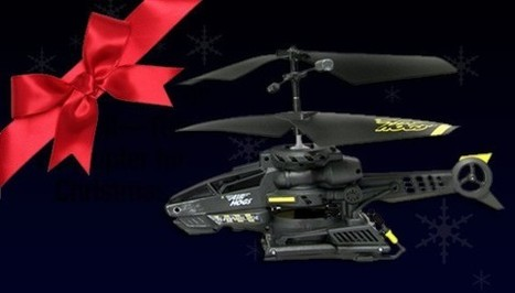 Helicopters, Quadcopters, and This Year's Other Amazing Flying Toys | Rise of the Drones | Scoop.it