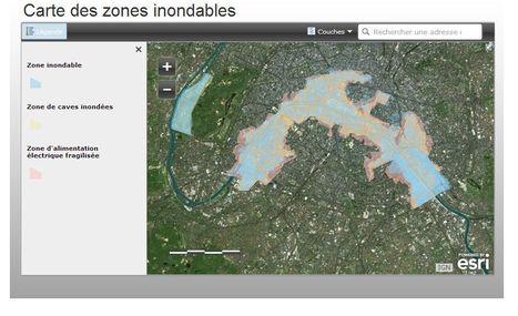 Paris : ça peut servir, les cartes des zones inondables (mises à jour)   Nos Racines   Scoop.it