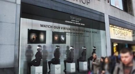 Le show en réalité virtuelle Topshop | We love Marketing | Scoop.it