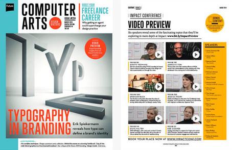 20 top web fonts | Typography | Creative Bloq | Web typography | Scoop.it
