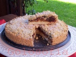 Torta sbriciolata alla nutella - ricetta semplice e veloce   La Cucina Italiana - De Italiaanse Keuken - The Italian Kitchen   Scoop.it