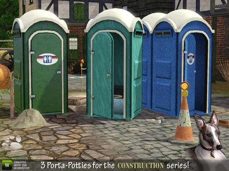 Cyclonesue's Porta-Potty portable toilets : FREE TODAY (TSR) | Porta-Potty portable toilets | Scoop.it