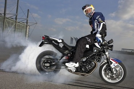 Stunt legend Chris Pfeiffer retires – Visordown   Motorcycle news from around the web   Scoop.it