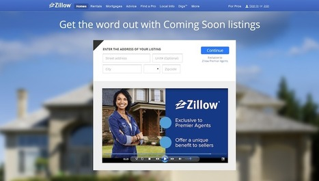 Zillow's new 'coming soon' feature puts pocket listings on steroids | Real Estate Plus+ Daily News | Scoop.it