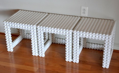 Build Useable Furniture With 3D Printable Modular Construction System   Architecture, design & algorithms   Scoop.it