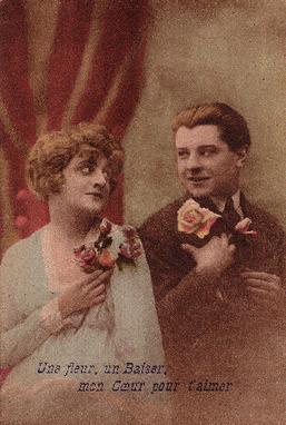Saint-Valentin : racontez-nous les histoires d'amour de votre famille ! - MyHeritage.fr - Blog francophone | Rhit Genealogie | Scoop.it
