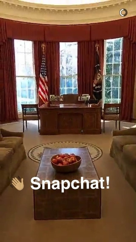 The White House Is Now On Snapchat - Tubefilter | TV Trends | Scoop.it