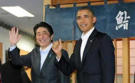 Sushis, courbettes, première dame: La tournée asiatique de Barack Obama observée à la loupe | Actualité en Aquitaine, www.aqui.fr, aqui | Scoop.it