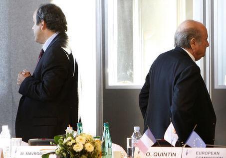FIFA : Michel Platini et Joseph Blatter suspendus   Mauvaises pratiques dans le sport pro   Scoop.it
