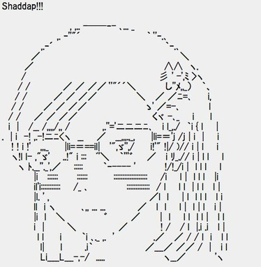 By The Summer of Azu (2008) | ASCII Art | Scoop.it