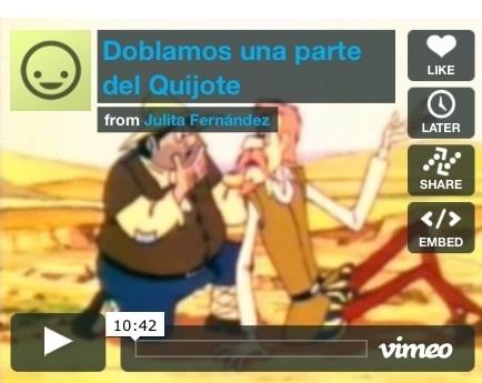 Doblaje de El Quijote en primaria | Nuevas tecnologías aplicadas a la educación | Educa con TIC | APRENDIZAJE | Scoop.it