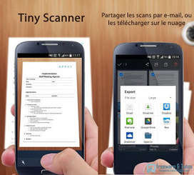 Tiny Scanner : un scanner portable pour votre smartphone | mlearn | Scoop.it