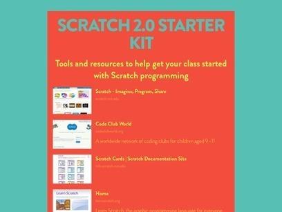 Scratch 2.0 Starter Kit | STEM Education Info | Scoop.it