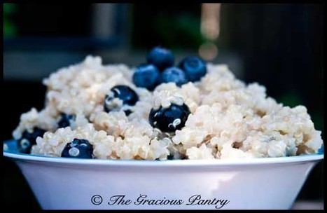Clean Eating Recipes | Clean Eating Coconut Blueberry Quinoa With Lime | Paleo Diet | Scoop.it