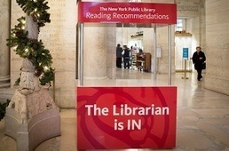 N.Y. Public Library to Host a Reading Recommendation Booth | All Things Bookish: All about books, all the time | Scoop.it