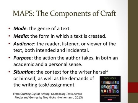 Guiding Student Writers as They Work with Digital Tools | MiddleWeb | Teaching and Learning in English at SSC | Scoop.it