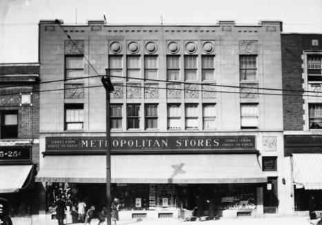 Magasin Metropolitain Stores (5637, avenue du Parc), 1er avril 1936   Photos ancestrales de Montréal   Scoop.it