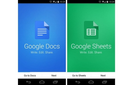 Google Releases Updated Standalone Apps for Docs, Sheets, and Slides - Droid Life | desktop liberation | Scoop.it