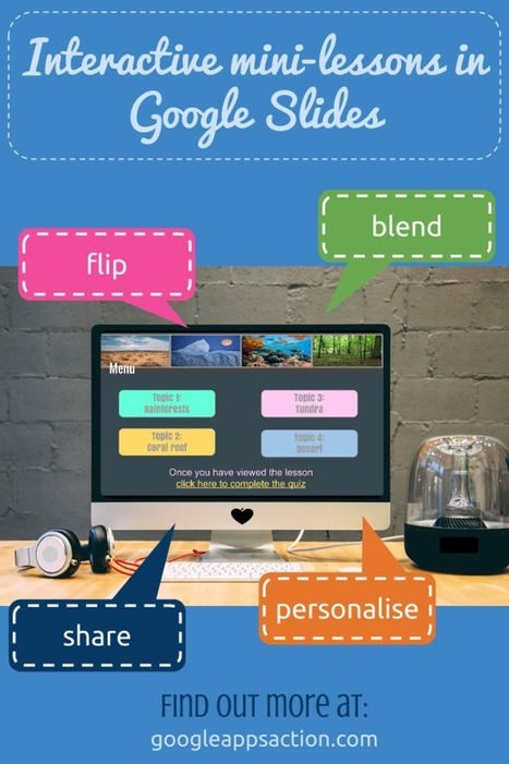 Creating mini-lessons using Google Slides in 6 easy steps | CLIL is possible with ICT | Scoop.it