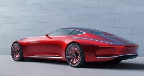 Vision Mercedes-Maybach 6 é o carro de sonho que poucos poderiam comprar | Heron | Scoop.it