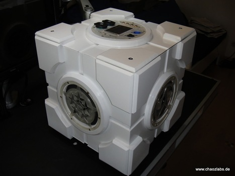 SoundCube: A Companion Cube that can Talk | Open Source Hardware News | Scoop.it
