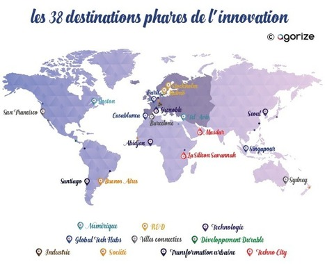 Les 38 destinations phares de l'innovation - Étape 1 : Europe - Agorize | Open & Social Innovation | Scoop.it