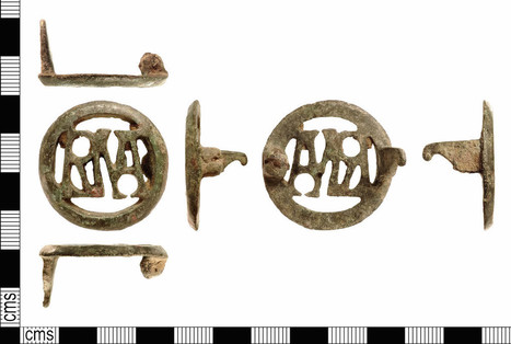 Ancient Roman Brooch Contains 'Lovely' Palindrome | Mundo Clásico | Scoop.it