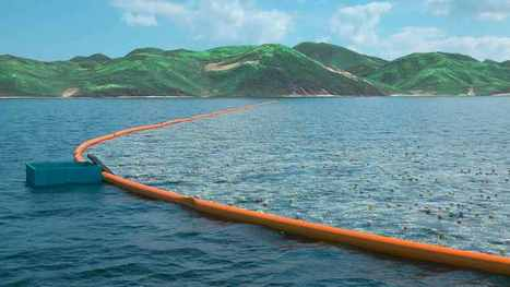 Longest #FloatingStructure In History Sets Out To #CleanTheOcean In 2016! | Rescue our Ocean's & it's species from Man's Pollution! | Scoop.it