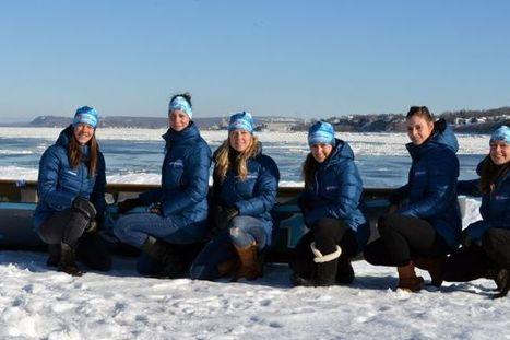 300 canotiers et canotières à l'assaut des eaux du Québec | Le canot à glace - Ice canoeing | Scoop.it