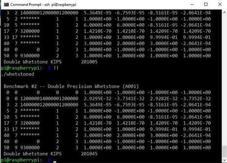 Whetstone FORTRAN benchmark on the Raspberry Pi Zero | Raspberry Pi | Scoop.it