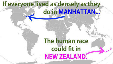 Think The World Is Crowded? You Could Fit The Entire Human Race In New Zealand | Real Estate Plus+ Daily News | Scoop.it