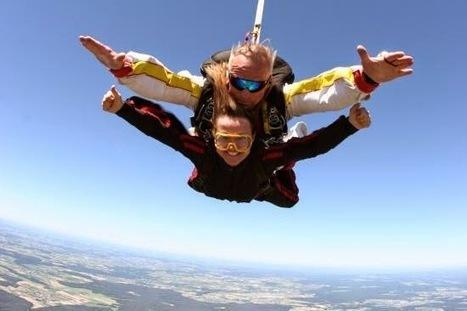 Sports et sensations fortes: Sauter en parachute : franchissez le pas ! | sautsenparachute | Scoop.it