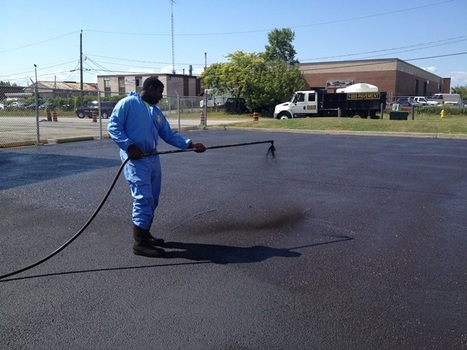 POLY-TAR High Durability Sealcoat-Gallery | Sure-Seal Pavement Maintenance Inc | Scoop.it