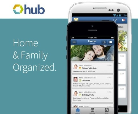 Hub Launches To Become The All-In-One Calendar And To-Do App For Your Family | TechCrunch | Divers infos | Scoop.it