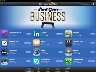 Start Your Business Is Featured iPad App Store Section This Week | iPad Insight | iPads, MakerEd and More  in Education | Scoop.it