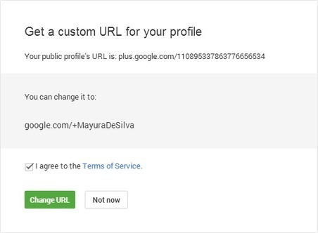 How to Claim Your Custom URL in Google+   Googleplus Tips and Tricks for Newbies Plus   Scoop.it