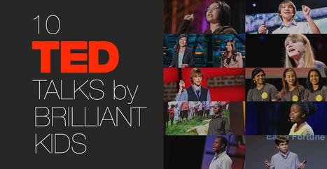 10 TED Talks By Brilliant Kids | Educación y habilidades comunicativas | Scoop.it