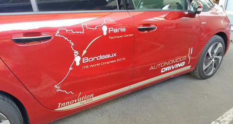 Peugeot fait circuler une voiture autonome entre Paris et Bordeaux | Heron | Scoop.it