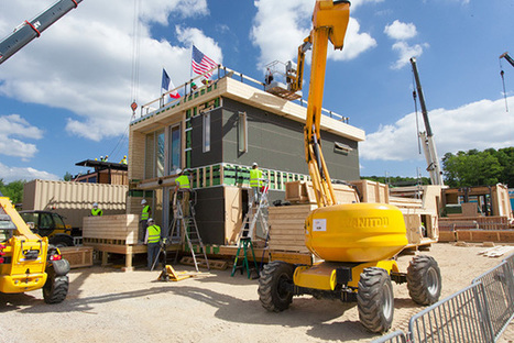 Salut Versailles! Solar Decathlon Europe Opens to Visitors - CleanTechnica | solar decathlon europe 2014 VIA-UJI | Scoop.it