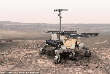 Could mini scouts be sent with rovers to Mars in future?  | Heron | Scoop.it