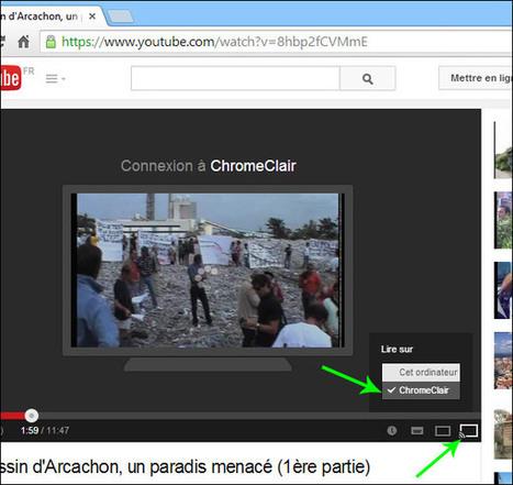 Google Chromecast : installer, configurer, utiliser... comment ça marche ? | Time to Learn | Scoop.it
