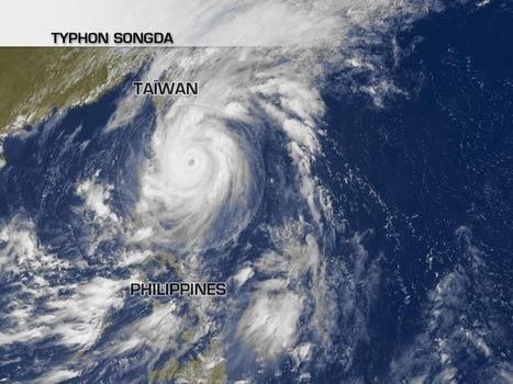 Songda faiblit en touchant le Japon | LaChaîneMétéo | Japon : séisme, tsunami & conséquences | Scoop.it